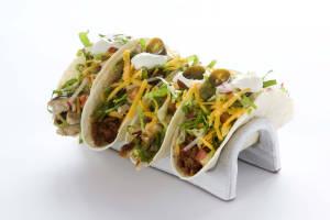 Tacos + server